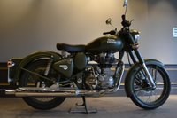 USED 2018 ROYAL ENFIELD 500 CLASSIC CLASSIC TAN .
