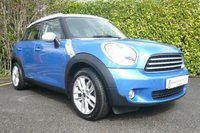 2012 MINI COUNTRYMAN 1.6 COOPER D 5d 115 BHP £11999.00