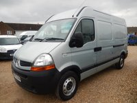 2010 RENAULT MASTER  MM35 MWB 2.5 DCi 120 BHP with Air Con 74674 Miles £7495.00