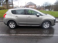 2010 PEUGEOT 3008 1.6 EXCLUSIVE HDI 5d AUTO 110 BHP £SOLD