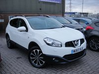 USED 2013 63 NISSAN QASHQAI+2 1.5 DCI 360 PLUS 2 5d 110 BHP ANY PART EXCHANGE WELCOME, COUNTRY WIDE DELIVERY ARRANGED, HUGE SPEC