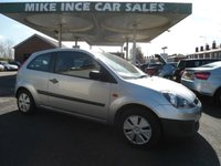 USED 2007 07 FORD FIESTA 1.2 STUDIO 16V 3d 78 BHP SERVICE HISTORY 12 MONTHS MOT TWO KEYS