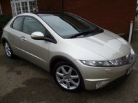 2008 HONDA CIVIC 1.8 I-VTEC EX I-SHIFT 5d AUTO 139 BHP Sat Nav, Pan Roof, Leather £5865.00