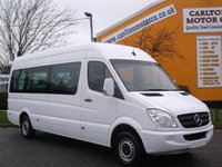2009 MERCEDES-BENZ SPRINTER 311 CDI TL9 Minibus Lwb High Roof Low mileage Free UK Delivery £14950.00