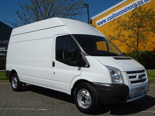 2014 14 FORD TRANSIT 2.2Tdci 350 Lwb High Roof panel van Rwd Ex Lease Free UK Delivery