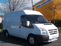 2011 FORD TRANSIT 140 T280 Mwb Medium Roof panel van+ A/Con Ex Lease Free UK Delivery £7450.00