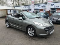 2010 PEUGEOT 207 1.6 SPORT COUPE CABRIOLET HDI 2d 108 BHP £5995.00