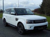 2013 LAND ROVER RANGE ROVER SPORT 3.0 SDV6 HSE BLACK 5d AUTO 255 BHP £35990.00