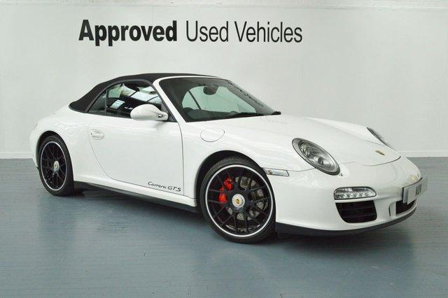 2011 11 PORSCHE 911 MK 997 3.8 CARRERA GTS PDK 2d AUTO 408 BHP