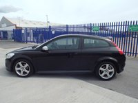 USED 2012 62 VOLVO C30 1.6 D2 R-DESIGN 3d 113 BHP £30 PER YEAR TO TAX!