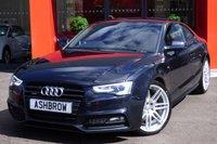 2013 AUDI A5 2.0 TDI QUATTRO S LINE BLACK EDITION 2d AUTO 177 S/S £19983.00