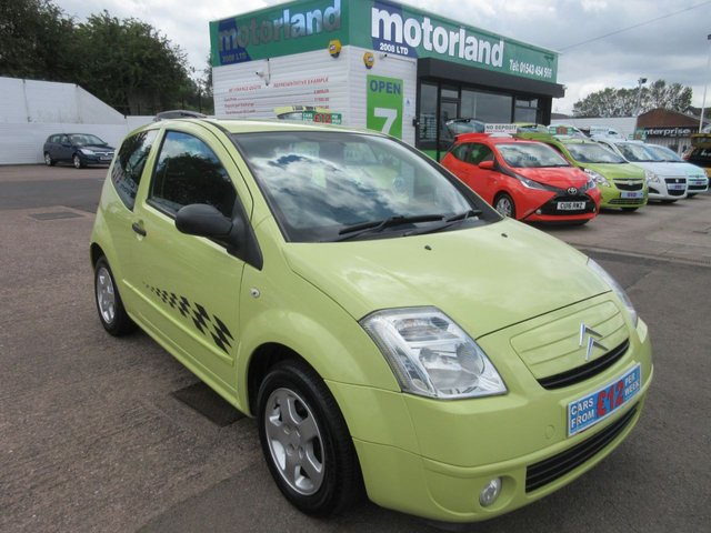 USED 2008 08 CITROEN C2 1.1 COOL 3d 60 BHP ***FINANCE AVAILABLE...TEST DRIVE TODAY***