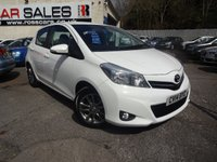 USED 2014 14 TOYOTA YARIS 1.3 VVT-I ICON PLUS 5d 99 BHP NATIONALLY PRICE CHECKED DAILY