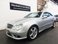 2003 MERCEDES-BENZ CLK 2.6 CLK240 AVANTGARDE 2d 170 BHP £4699.00