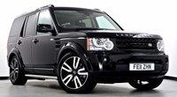 2011 LAND ROVER DISCOVERY 4 3.0 SDV6 Landmark LE 5dr Auto £28995.00