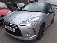 2014 CITROEN DS3 1.6 E-HDI DSTYLE PLUS 3d 90 BHP £9995.00