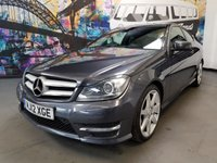 USED 2012 12 MERCEDES-BENZ C CLASS 2.1 C220 CDI BLUEEFFICIENCY AMG SPORT 2d AUTO 170 BHP NO PAYMENTS FOR TWO MONTHS+LOW RATE FINANCE.