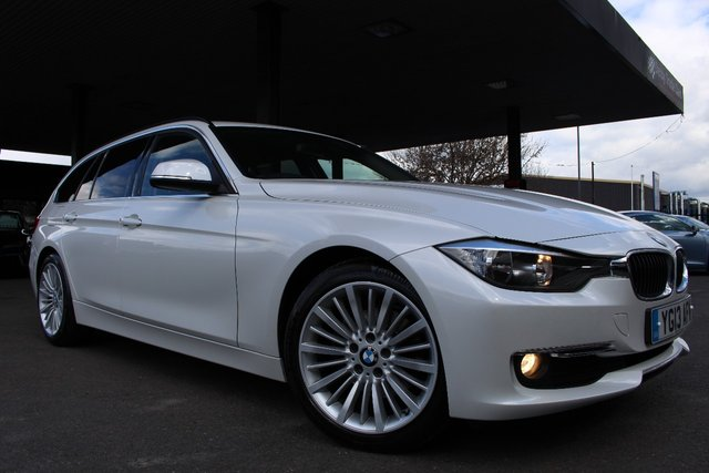 2013 13 BMW 3 SERIES  320D LUXURY TOURING 5d 181 BHP