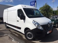 2015 RENAULT MASTER 2.3 LM35 BUSINESS DCI S/R P/V 1d 125 BHP £11995.00