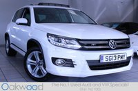 2013 VOLKSWAGEN TIGUAN 2.0 TDI 140 BHP R LINE 4MOTION BLUEMOTION TECH  £16985.00