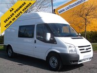 USED 2011 60 FORD TRANSIT 115 T350L -Welfare Mess+Toliet Unit Low mileage Fsh Free UK Delivery