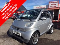 2005 SMART FORTWO 0.7 PASSION SOFTOUCH 2d AUTO 61 BHP £2895.00