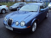 2006 JAGUAR S-TYPE 2.7 V6 SE 4d AUTO 206BHP £4490.00