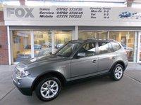 2009 BMW X3  XDRIVE20D SE EDITION PREMIUM 5d 175 BHP £11475.00