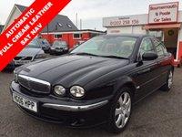 2006 JAGUAR X-TYPE 2.5 V6 SE 4d AUTO 195 BHP £2995.00