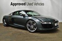 2013 AUDI R8 5.2 V10 QUATTRO 2d AUTO 518 BHP £78950.00