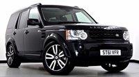 2011 LAND ROVER DISCOVERY 4 3.0 SDV6 Landmark LE 5dr Auto £24995.00