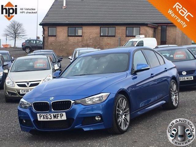 2013 63 BMW 3 SERIES 320D M SPORT 4d AUTO