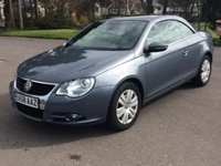 USED 2008 58 VOLKSWAGEN EOS 1.4 TSI 2d 160 BHP LOCAL CAR THATS PRICED TO SELL LOW MILES NEW MOT CALL FOR DETAILS