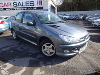 USED 2006 55 PEUGEOT 206 1.4 VERVE 5d 74 BHP NATIONALLY PRICE CHECKED DAILY