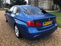 USED 2013 63 BMW 3 SERIES 2.0 320D M SPORT 4d AUTO 181 BHP HEATED LEATHER, BLUETOOTH