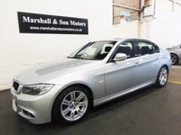 2008 BMW 3 SERIES 2.0 318D M SPORT 4d AUTO 141 BHP £8500.00