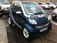 2003 MCC                       CITY COUPE SMART PASSION SOFTOUCH AUTO 599cc  £1795.00