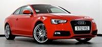 2012 AUDI A5 2.0 TFSI Quattro S Line S/S S Tronic 2dr  £18495.00