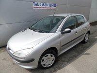 2001 PEUGEOT 206 1.1 LX 5d 60 BHP ONLY 36000 MILES £995.00