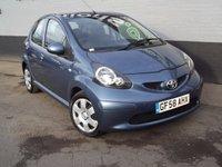 2008 TOYOTA AYGO 1.0 BLUE VVT-I 5d 68 BHP £2995.00