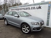 USED 2011 61 AUDI Q5 2.0 TDI S Line S Tronic Quattro 5dr Led Lights + Full Leather Trim