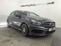 2014 MERCEDES-BENZ A CLASS 1.5 A180 CDI BLUEEFFICIENCY AMG SPORT 5d 109 BHP £17495.00