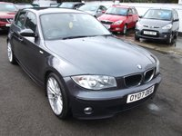 2007 BMW 1 SERIES 2.0 120D SPORT 5 DOOR DIESEL £4295.00