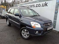USED 2010 10 KIA SPORTAGE 2.0 CRDi XS 4WD 5dr Full Leather+Full History