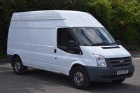 2012 FORD TRANSIT 2.4 350 H/R 5d 115 BHP LWB HIGH ROOF DIESEL MANUAL VAN £7990.00