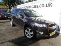 USED 2013 62 CHEVROLET CAPTIVA  2.2 VCDi LTZ AWD 5dr (start/stop)  Navigation+Full Leather+More