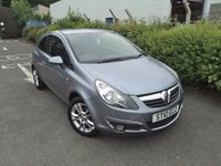 USED 2010 10 VAUXHALL CORSA 1.2 SXI 3d 83 BHP Low Insurance + Tax