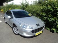 USED 2010 10 PEUGEOT 407 1.6 S HDI 4d 108 BHP Two Previous Owners