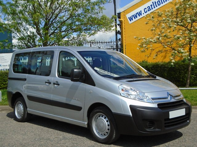 2009 59 CITROEN DISPATCH  2.0Hdi 9 Seat Minibus Twin Side Doors A/C Low Mileage Free UK Delivery