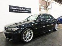 2005 BMW 3 SERIES 3.0 330CI SPORT 2d AUTO 228 BHP CONVERTIBLE £5000.00